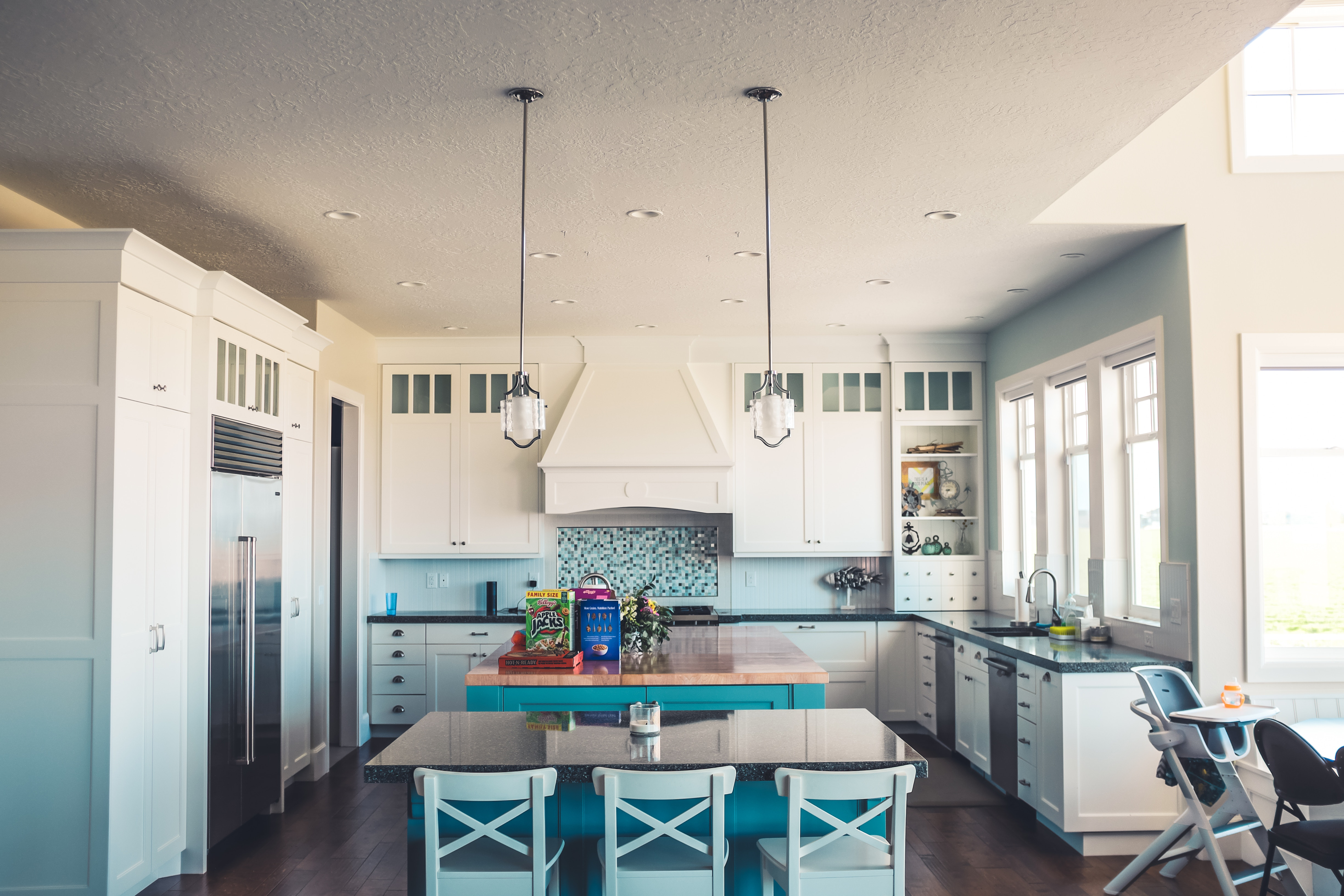 appliance power feeds for a kitchen renovation