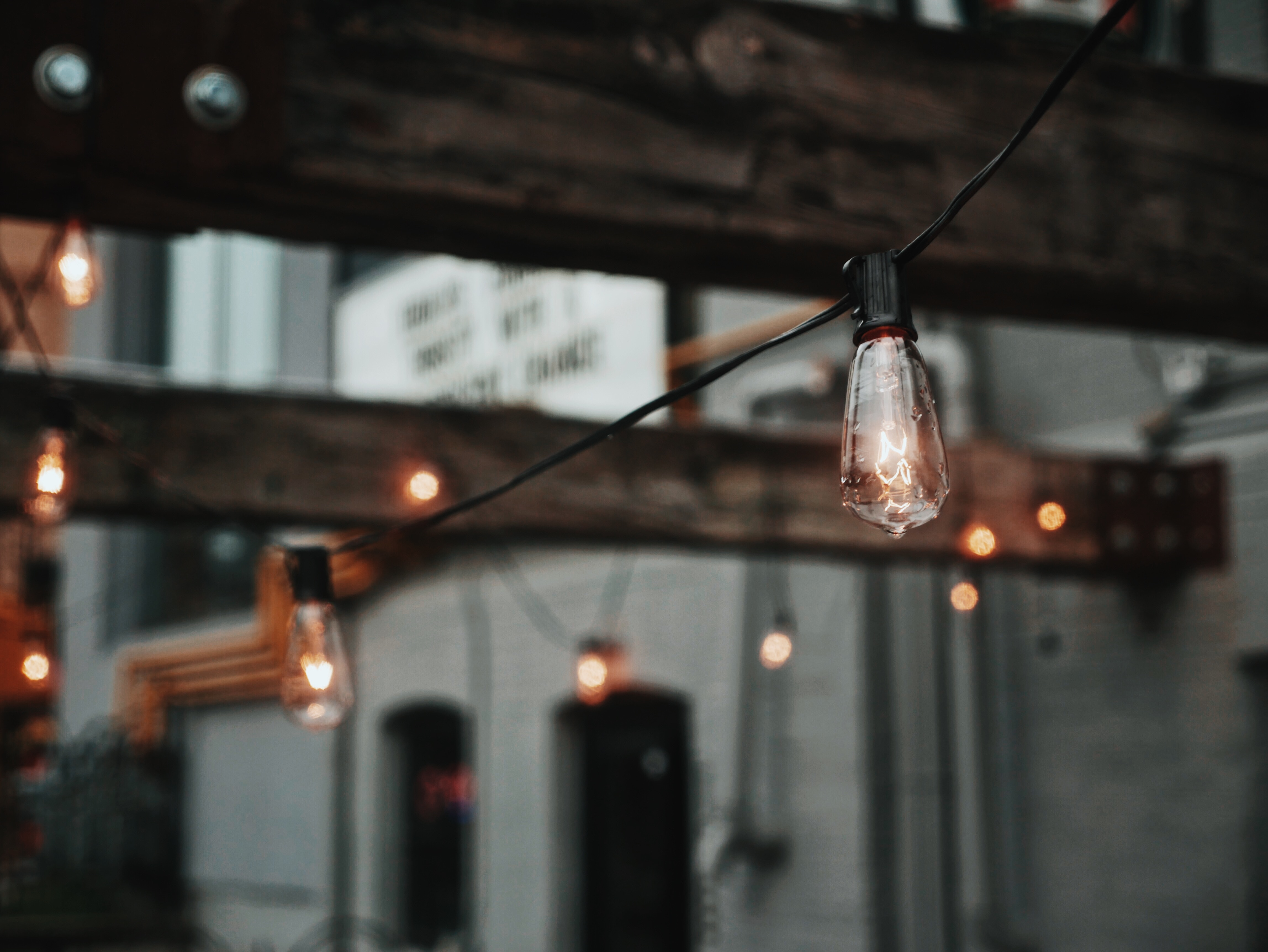 outdoor string light photo - is your electrical device CSA approved?