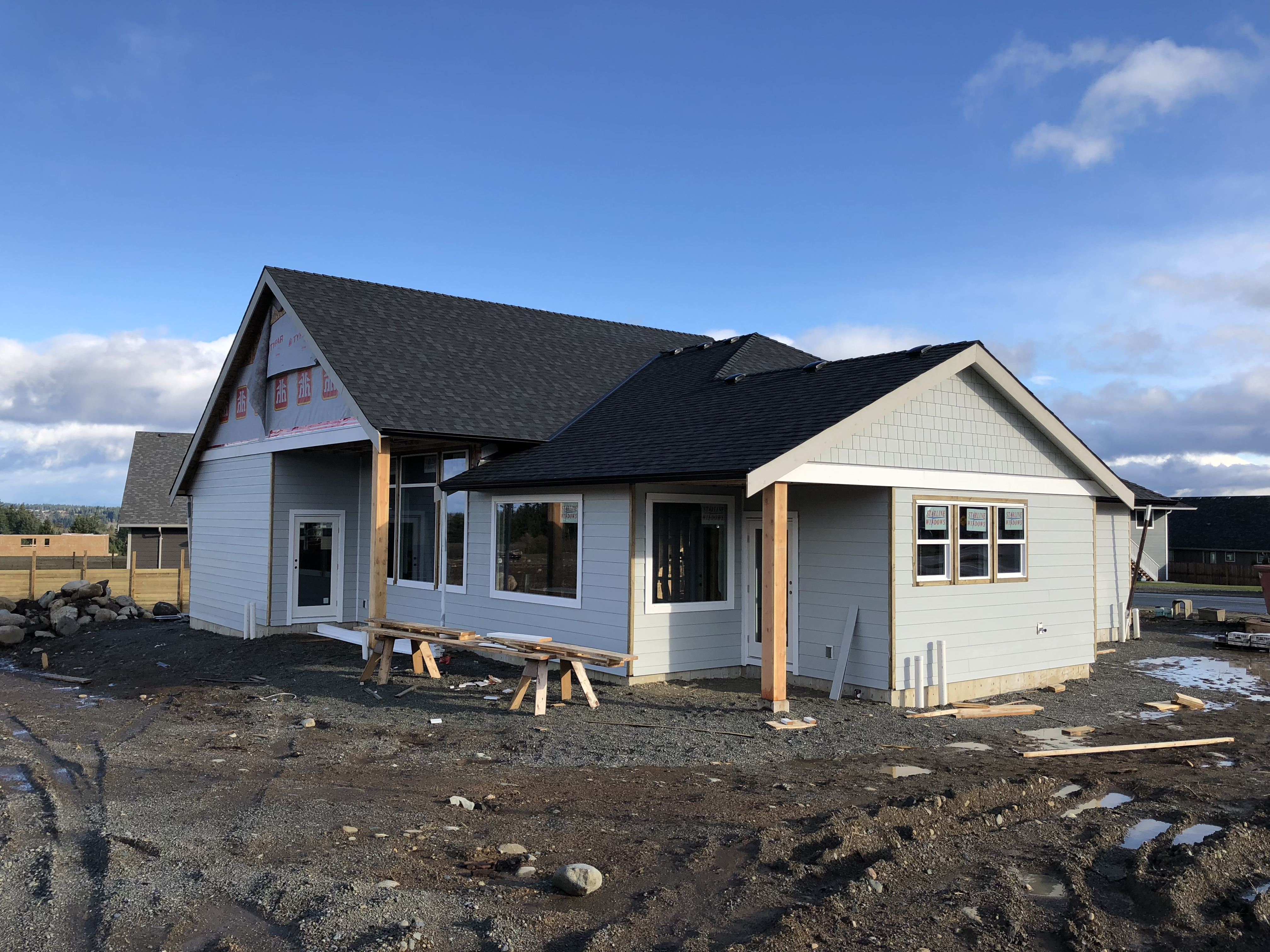 Showhome in The Ridge built by Candor Developments